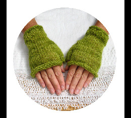 Rustic Fingerless Gloves
