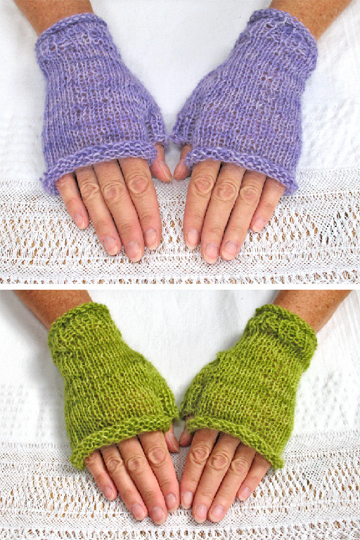 rustic gloves knitting 735x1102